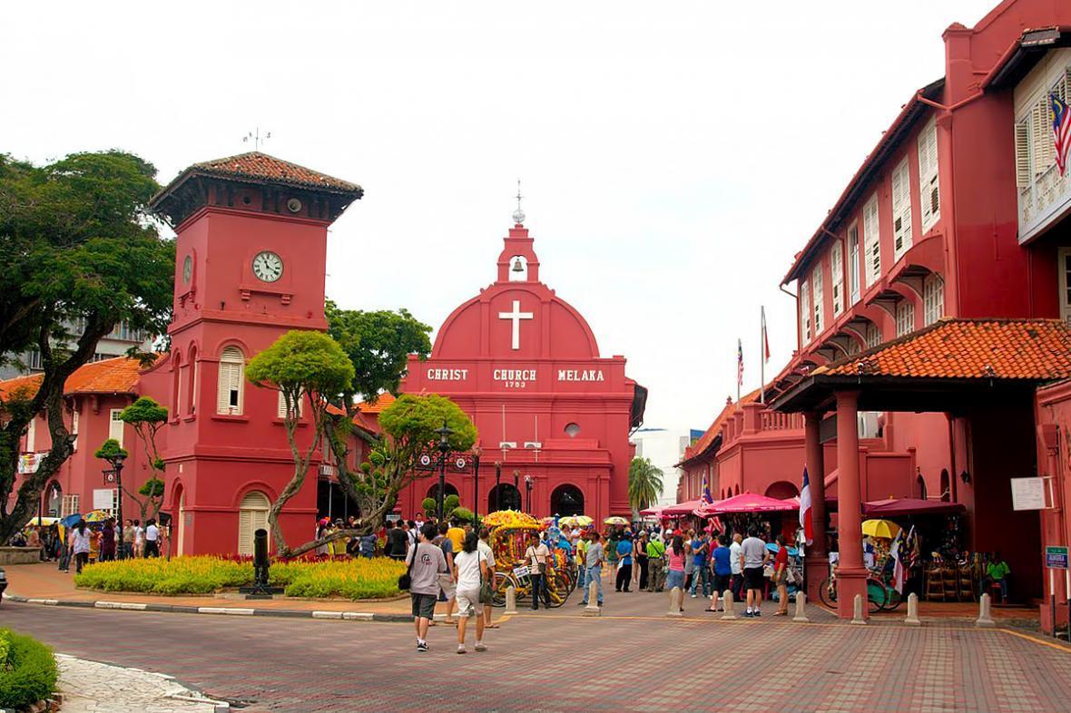 جاذبه های شهر مالاکا در مالزی