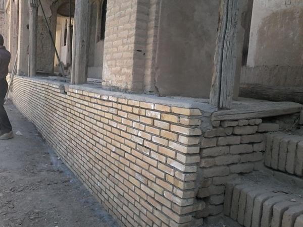 انتها مرحله اول مرمت قلعه تاریخی هژبر در شهرستان بوئین و میاندشت
