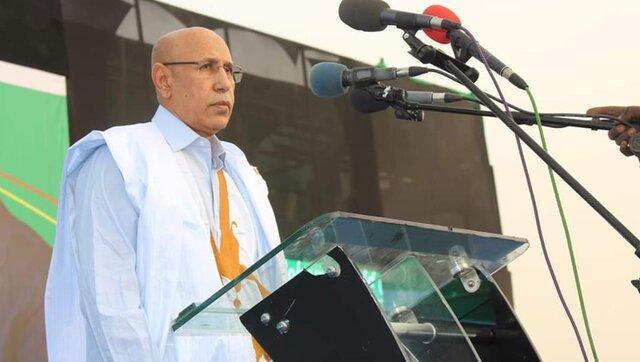 محمد ولد الغزوانی رسما رئیس جمهوری موریتانی اعلام شد