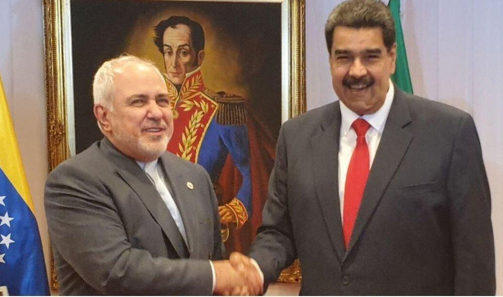 ظریف با مادورو دیدار کرد، عکس