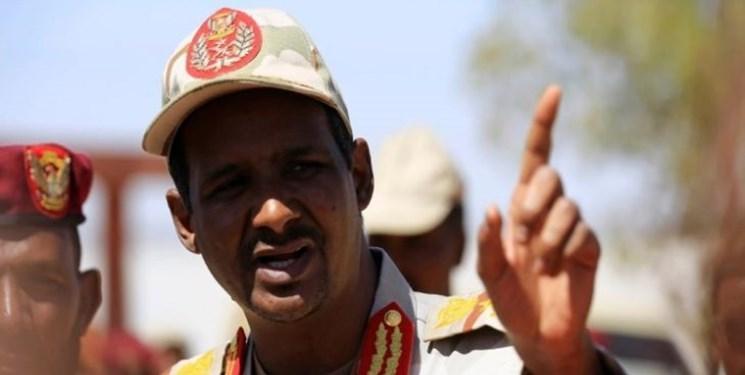 سودان ، دیدار حمیدتی با السیسی و کشته شدن 184 معترض