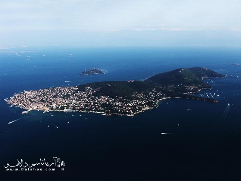 جزایر پرنس کجاست؟