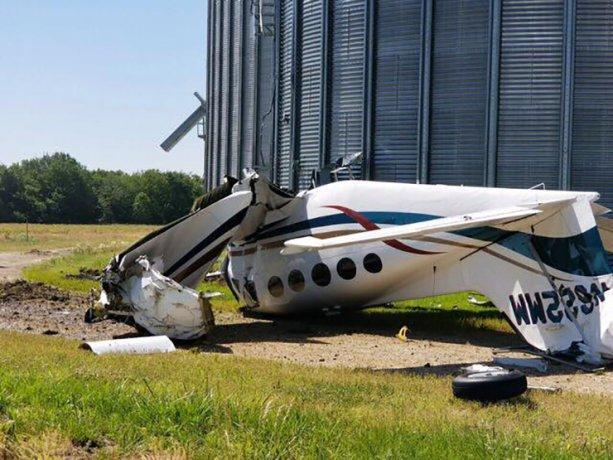 سه کشته در پی سقوط یک هواپیما در آمریکا