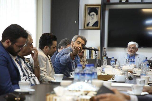 محمدرضا عارف: هنر صدا و سیما سرمایه سوزی است، جای آثار فاخر همچون هزاردستان خالی است