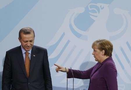 گفت وگوی رئیس جمهوری ترکیه با صدراعظم آلمان