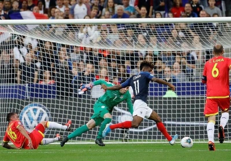 انتخابی یورو 2020، رجحان آسان فرانسه مقابل آندورا، رونالدو 4 گل زد و انگلیس بازی 8 گله را برد