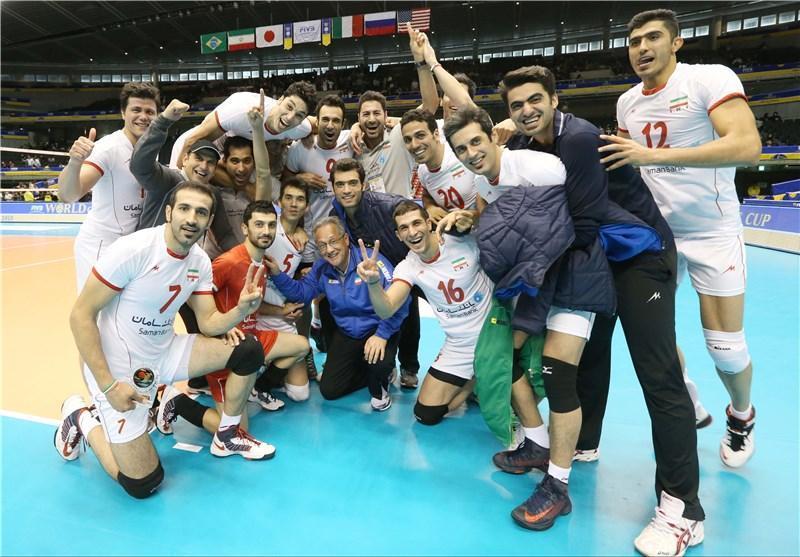 ایران در لیگ جهانی با برزیل، لهستان و ایتالیا همگروه شد