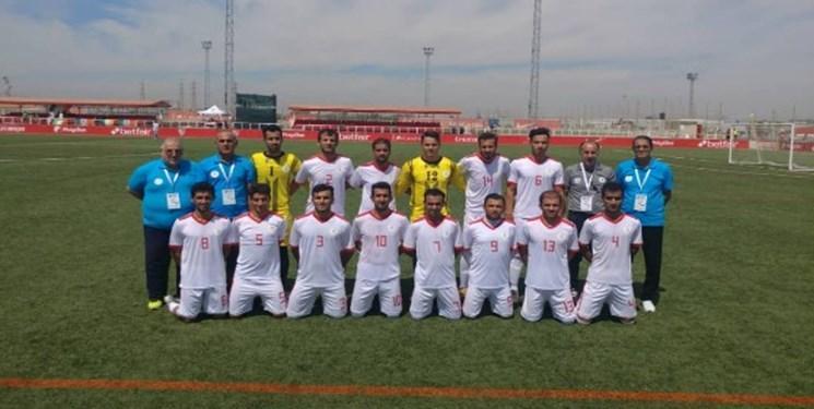 جام جهانی فوتبال هفت نفره، سویا 2019، تیم ملی ایران برابر هلند به پیروزی رسید