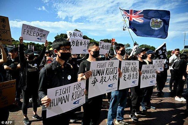 هنگ کنگ همچنان معترض است؛ حمایت از هنگ کنگی ها در سیدنی و تایپه