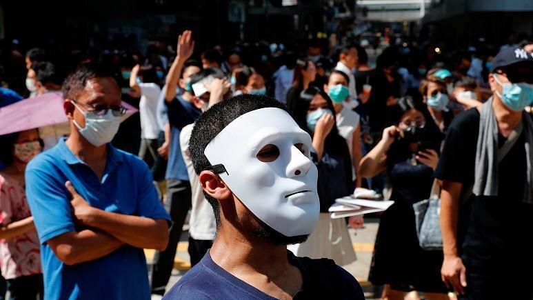 بحران هنگ کنگ ، ماسک زدن در تظاهرات ممنوع می گردد