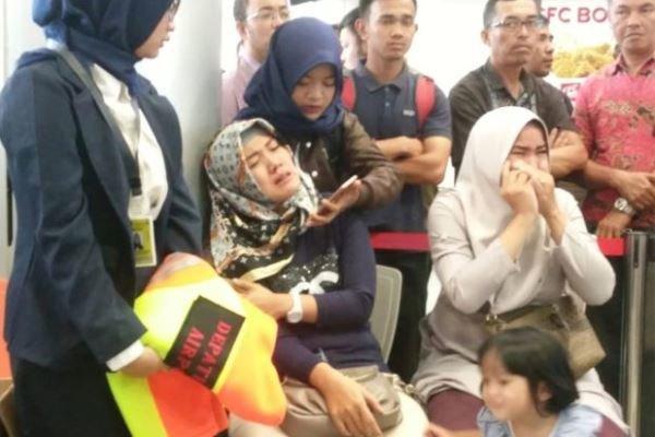 سقوط هواپیمای اندونزی با 189 سرنشین