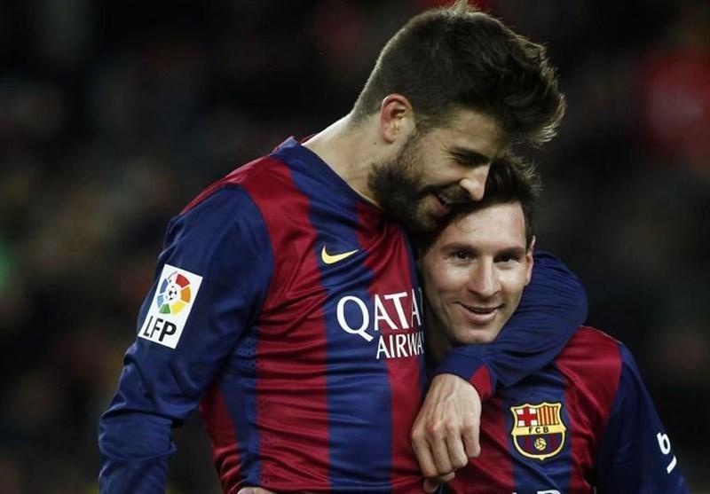 پیکه: مسی حق دارد هر زمانی که خواست از بارسلونا جدا شود