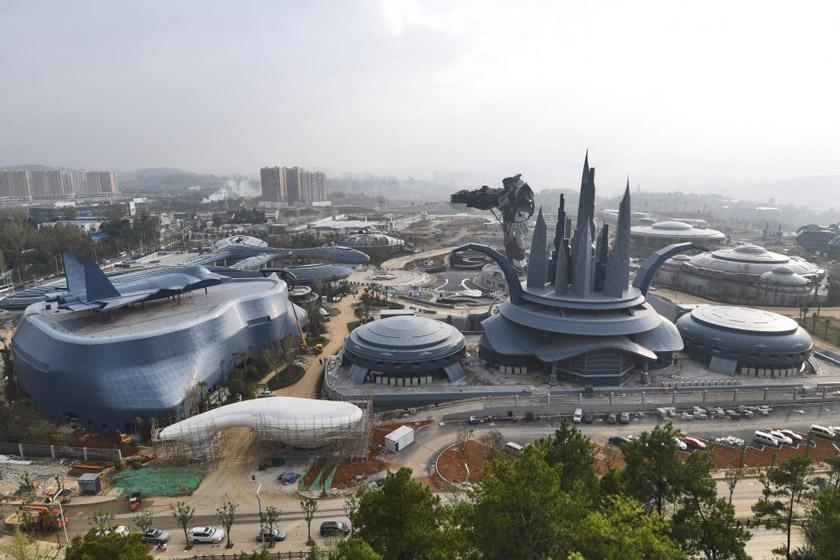پارک واقعیت مجازی عظیم چین ماه آینده افتتاح می گردد