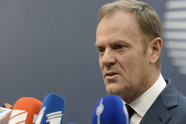 پیشنهاد تاسک به اتحادیه اروپا برای موافقت با تمدید مهلت برگزیت