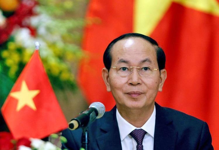 مرگ رئیس جمهوری ویتنام در 61 سالگی