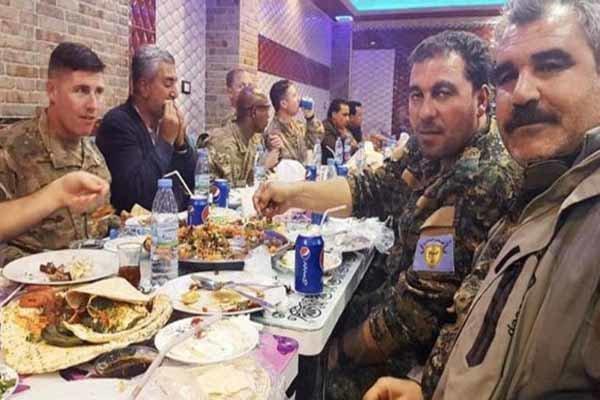 عکسی از سوریه که خشم وزیر دفاع ترکیه را به دنبال داشت