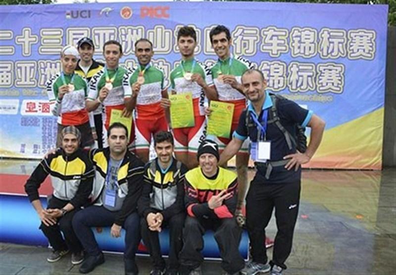 اولین مدال تاریخ ایران در تیم رلی آسیا