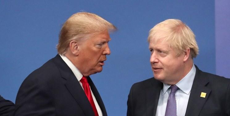 توافق تجاری انگلیس و آمریکا در گرو لغو برجام توسط لندن است
