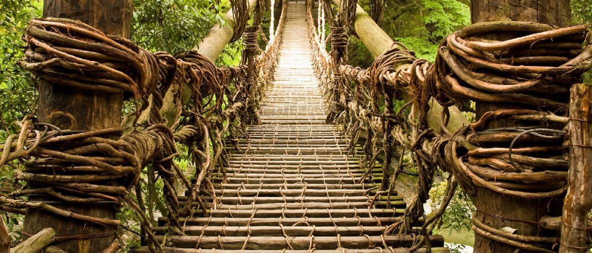 10 پل که عبور از آنها لرزه به اندامتان می اندازد
