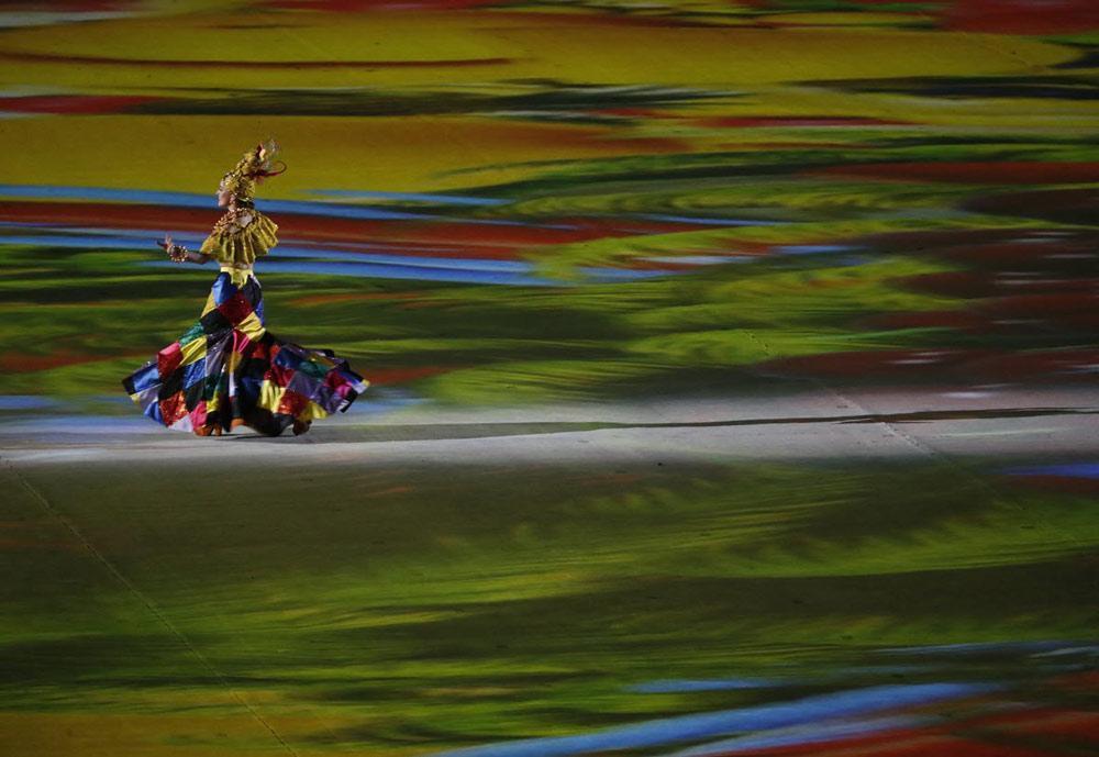 تصاویری از جشن اختتامیه المپیک ریو