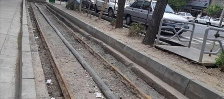 بازسازی ریل ماشین دودی شهرستان ری با اعتبار 60 میلیون تومان