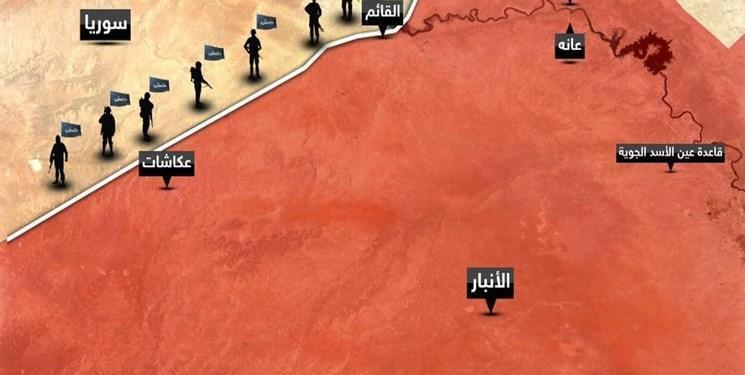 الحشد الشعبی از موفقیت عملیات پاکسازی مناطق نزدیک به مرز با سوریه اطلاع داد