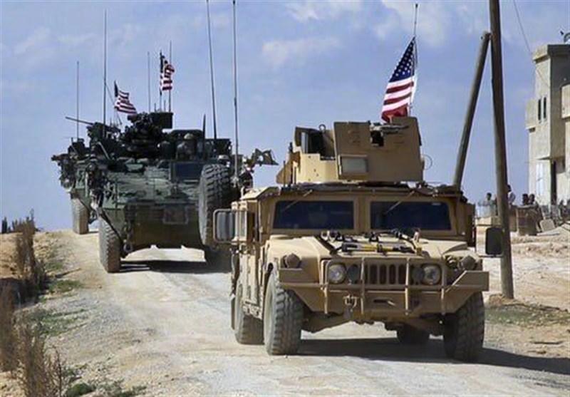 ارتش سوریه ستون نظامی آمریکا را مجبور به بازگشت کرد