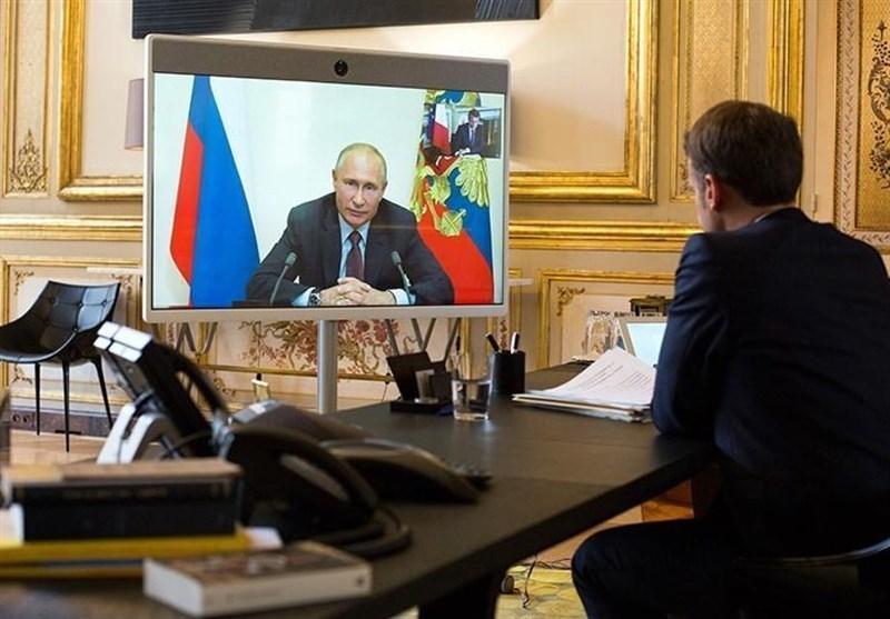 اطمینان ماکرون از پیشرفت در روابط با روسیه