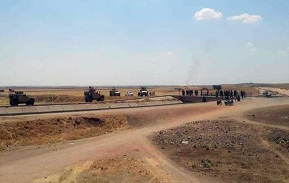 ارتش سوریه، مانع حرکت کاروان نظامی آمریکا شد
