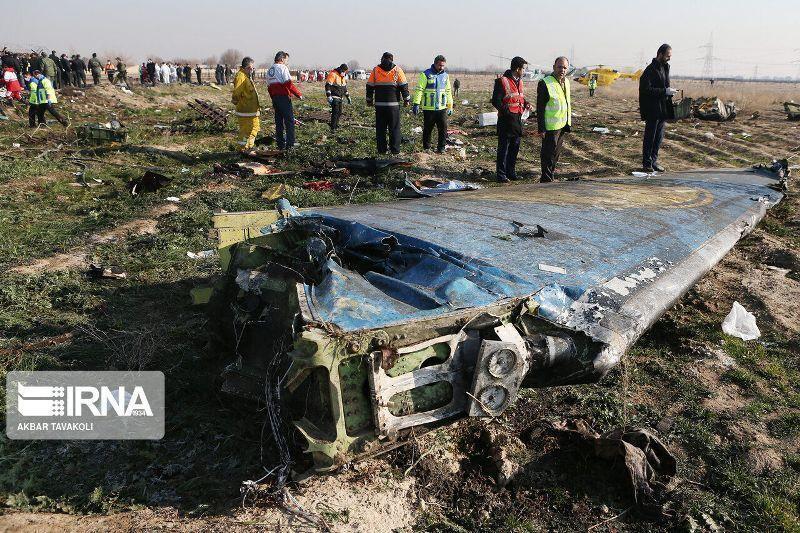 خبرنگاران بیانیه هیات اعزامی ایران به پاریس پیرامون سانحه هواپیمای اوکراینی