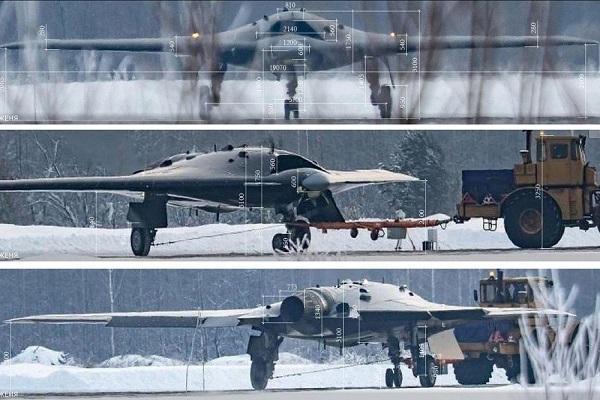 سوخو S-70 اوخوتنیک-بی؛ پهپاد جت رادار گریز روسیه! (
