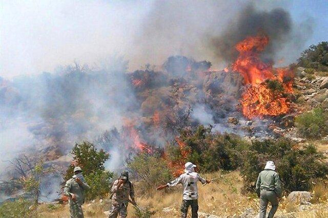 آتش سوزی دوباره در سالوک