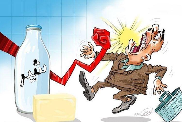 شوک 40 درصدی شیر
