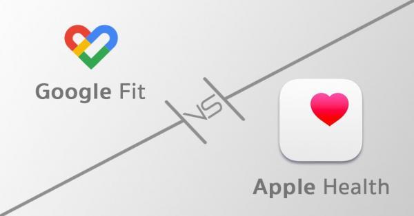 نرم افزار گوگل فیت دقت پایین تری نسبت به نرم افزار Apple Health دارد