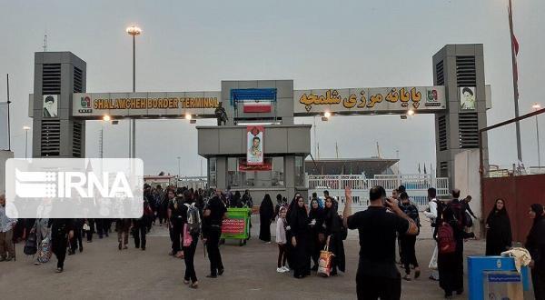 خبرنگاران مرز شلمچه برای تردد مسافران بسته است