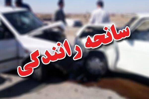 7 مصدوم در حادثه رانندگی جاده تبریز- آذرشهر