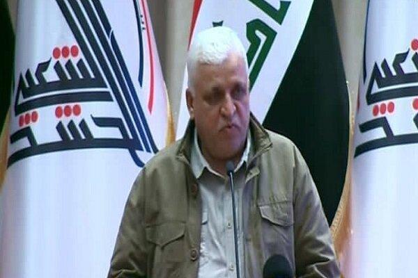 واکنش رئیس سازمان حشد شعبی عراق به انفجارهای بغداد
