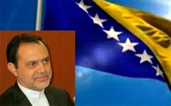 سفیر ایران در بوسنی: تهران-سارایوو مصمم به گسترش همه جانبه روابط هستند