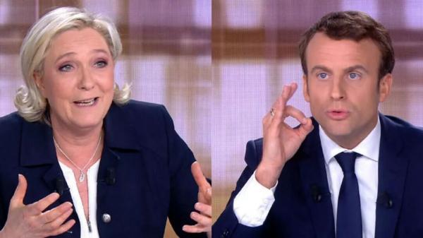 سقوط مکرون در نظر سنجی انتخابات ریاست جمهوری 2022 فرانسه