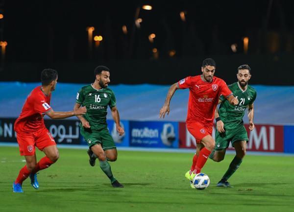 الاهلی عربستان 1-1 الدحیل قطر؛ فرار الاهلی از شکست در دقیقه 91