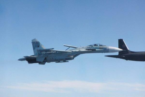 جنگنده روسیه 3 هواپیمای نظامی فرانسوی را رهگیری کرد