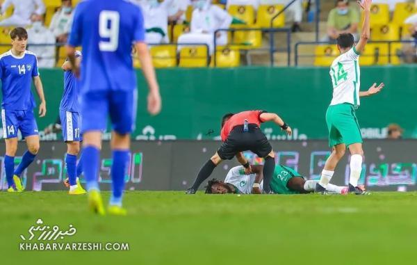 اتفاق مشابه اریکسن در ریاض، بازیکن عربستان تا پای مرگ رفت