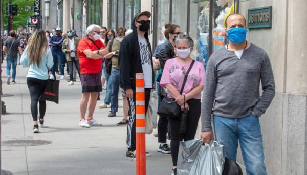 تور کانادا: آمار کرونا در شهر تورنتو امروز به کمترین میزان از زمان آغاز موج سوم رسید