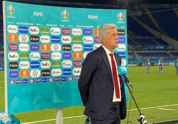 یورو 2020، پتکوویچ: به ایتالیا به خاطر بازی فوق العاده اش تبریک می گویم، هنوز شانس صعود داریم