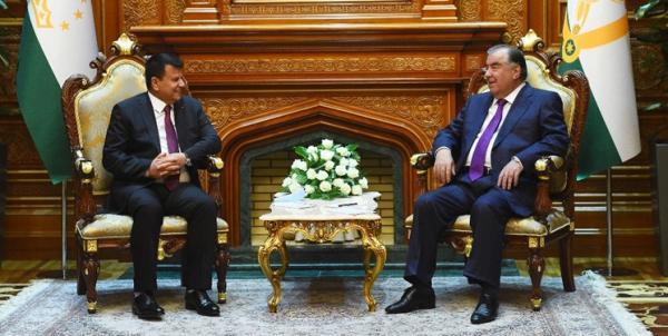 تاکید تاجیکستان و افغانستان بر توسعه همکاری های دو جانبه