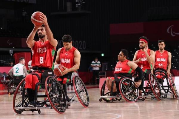 شکست بسکتبال با ویلچر ایران مقابل آلمان